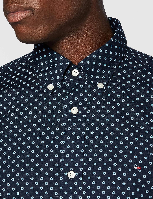 Tommy Hilfiger Floral Geo Print Shirt Chemise Homme