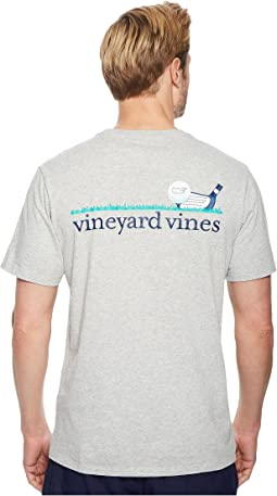 Vineyard Vines Short Sleeve Golf Line Pocket Tee