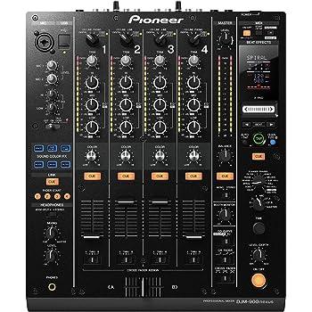 Pioneer DJ Mixer, Black, 9.70 x 17.40 x 20.60 (DJM-900NXS)