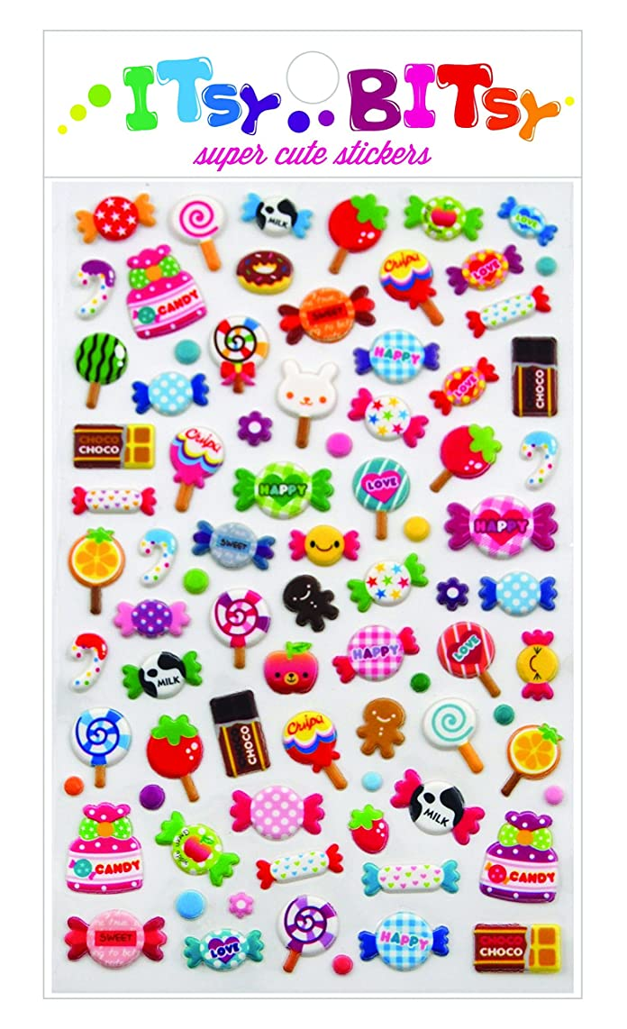 Ooly Itsy Bitsy Stickers - Candy Time