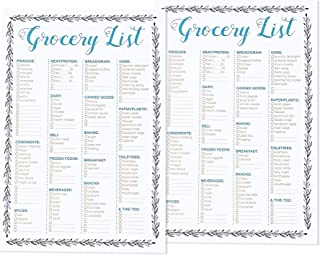 Best Paper Greetings to-do-List Notepad - 2-Pack Magnetic Notepads, Fridge Grocery List Magnet Pad for Shopping, to Do List Shopping Organizer, 50 Sheets Per Pad, 9.25 x 6.25 Inches