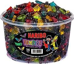 Haribo Gummi Candy - VAMPIRES (Tub 150 pieces)