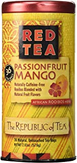 The Republic of Tea Passionfruit Mango Red Tea, 36 Tea Bags