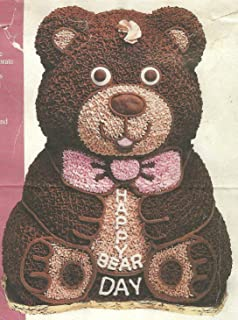 Wilton 3D Stand-Up Teddy Bear Cake Pan Set (2105-2325, 1986)