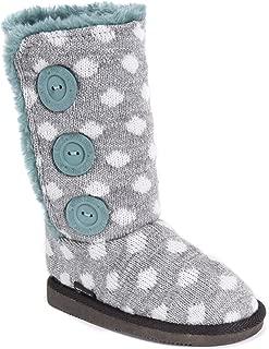 Kids Girl's Malena Boots-Grey/Teal Fashion