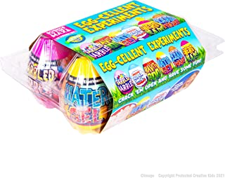 Science to The Max Egg-Cellent Experiment - 6 Pack Science Experiments for Children- Egg-Shaped Activity Kit for Boys and ...