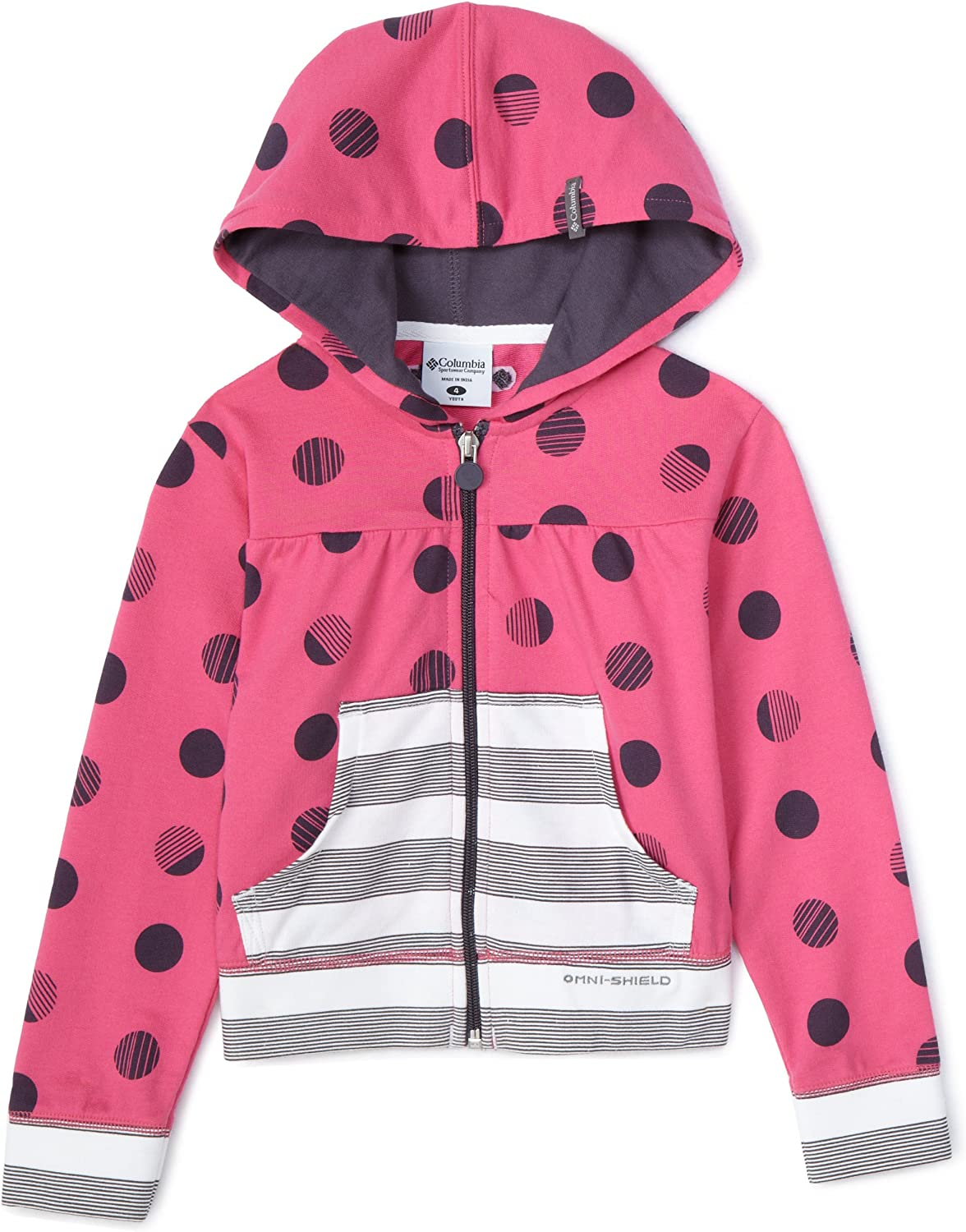 Columbia Little Girls' Camp Out Cutie Hoodie