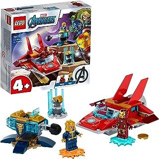 LEGO76170MarvelAvengersIronManContreThanosJouetavec2FigurinespourEnfantsde4Anset+