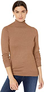Amazon Essentials Women's Classic Fit Lightweight Long-Sleeve Turtleneck Sweater
