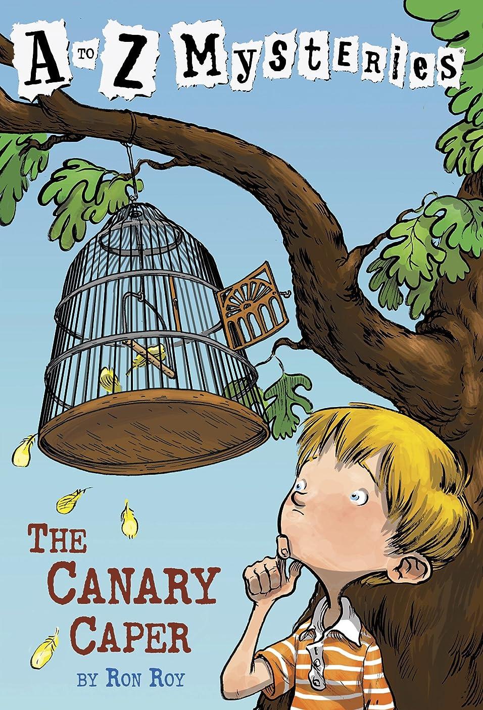ハリウッド路面電車添加A to Z Mysteries: The Canary Caper (English Edition)