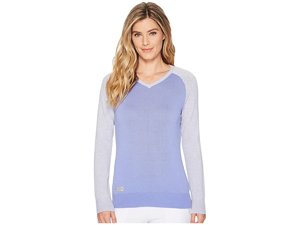 adidas Golf Essentials Sweater (Chalk Purple Heather) Women