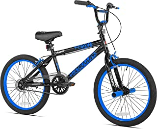blue and black bike