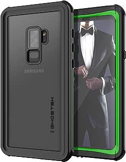 Ghostek Nautical Heavy Duty Waterproof Case Compatible with Galaxy S9 Plus - Green