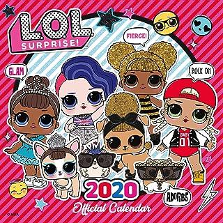 LOL Surprise! 2020 Calendar - Official Square Wall Format Ca