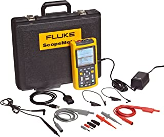 Fluke 123/003S Industrial ScopeMeter with SCC120 Kit, 20MHz Frequency