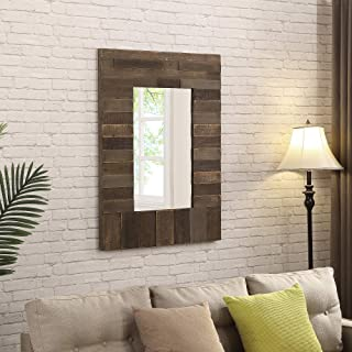 FirsTime & Co.  Timber Chic Wall Mirror, 40
