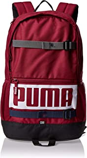Puma Deck Backpack Rhubarb red Bag For Unisex, Size One Size