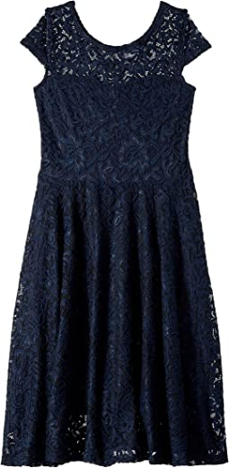 Aurora Lace Skater Dress (Little Kids/Big Kids)