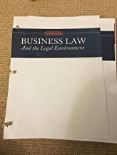 Essentials of Business Law and the Legal Environment, Loose-Leaf Version