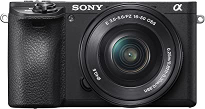 Sony Alpha a6500 Mirrorless Digital Camera Bundle with 2.95