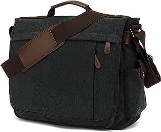CALIYO Umhängetasche mit Überschlag Damen und Herren,Messenger Bag,Crossbody Bag Damen,aus Kunstleder,Schultertasche Handt...