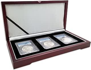Morgan Silver Dollar 3-Coin Mintmark Set (S, P, O) MS-63