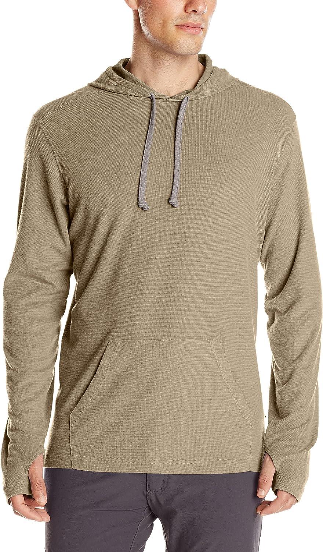 Silverlake X-Large ExOfficio Mens BugsAway Lumos Lightweight Knit Hoody