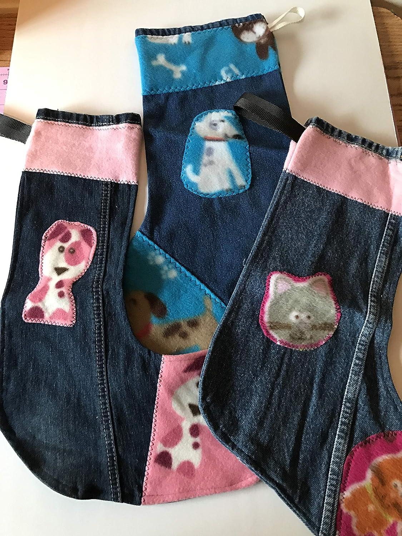 Blue jean Fresno Mall Christmas Ranking TOP15 Stocking dog blue cats stocking