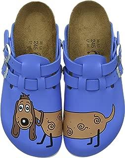 Birkenstock Birki's Kay Birko-Flor Dog Clogs Blue