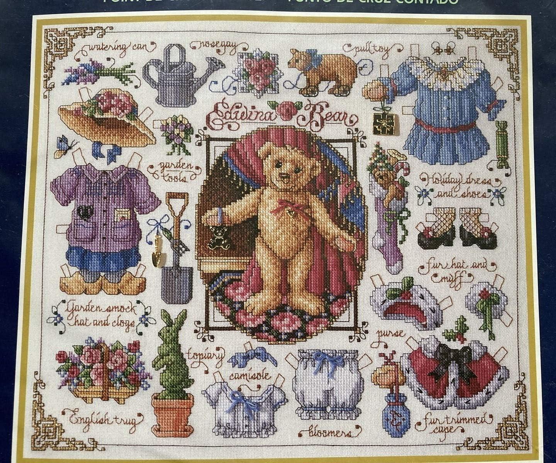 Bucilla Paper Dolls Teddy Bear 16