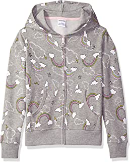 Spotted Zebra Fleece Zip-Up Hoodies