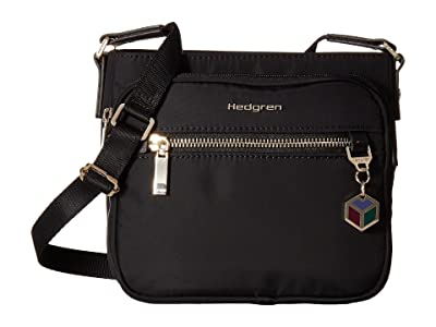 Hedgren Magic Small Crossbody (Black) Cross Body Handbags