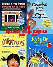 4 Spanish-English Books for Kids - 4 libros bilingües para niños: With Pronunciation Guide