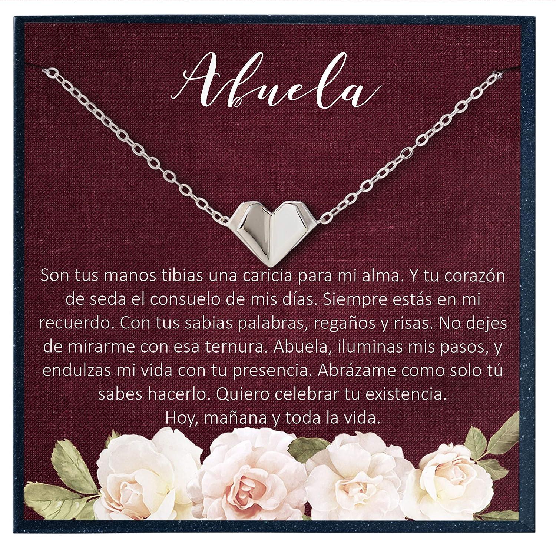 Collar Regalo Para Abuela Día la Cumpleaños l Deluxe Easy-to-use de Madre