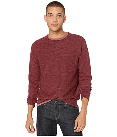 J.Crew Rugged Cotton Sweater (Heather Brick) Men