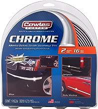 Cowles Body Molding - 2in x 16ft Chrome Molding For Trucks (S38900)