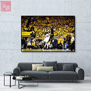GoGoArt ROLL Canvas print wall art panorama photo big picture poster modern (no framed no stretched not oil painting) Kyrie Irving nba 2016 championship game 7 mvp Cavaliers A-0120-1.5 (24 x 36 inch)