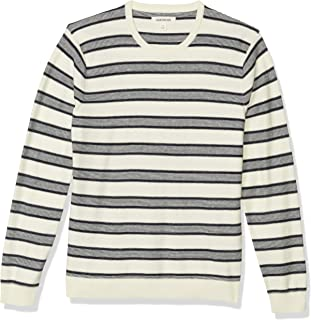 Goodthreads Men's Soft Cotton Crewneck Summer Sweater