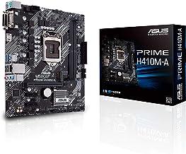 ASUS Prime H410M-A/CSM LGA1200 (Intel 10th Gen) Micro-ATX Commercial Motherboard (M.2 Support, HDMI, D-Sub, DVI, USB 3.2 Gen 1, COM Header, TPM Header and ASUS Control Center Express)