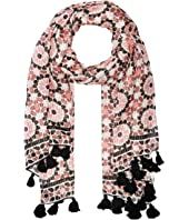 Kate Spade New York - Floral Mosaic Oblong Scarf