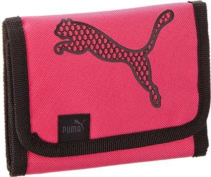 PUMA Portefeuille Big Cat 12,5 x 9,5 cm Rose Noir 12,5 cm : Amazon ...