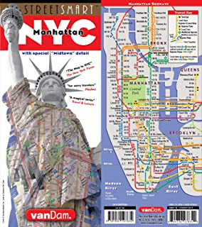 Best Street Map Of Manhattan Nyc Of 2020 Top Rated Reviewed