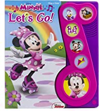 """Minnie """"Let's Go!"""" Little Music Note Book (Disney Minnie: Play-a-song)"""