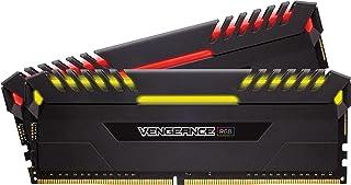 Corsair Vengeance RGB - Kit de memoria Entusiasta de 16 GB (2 x 8 GB, DDR4, 2666 MHz, C16, XMP 2.0), color negro