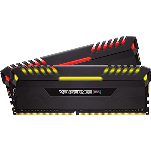 DDR4 3200 MHz C16 1,35 V 8 GB x 2 Negro Cl/ásico G.Skill Ripjaws V Series F4-3200C16D-16GVR 16 GB Kit de Memoria