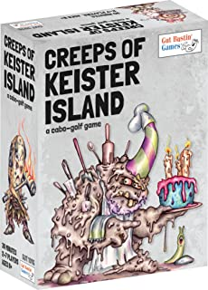 Gut Bustin' Games Creeps of Keister Island Board Games