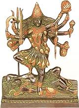 Goddess Kali - Brass Statue