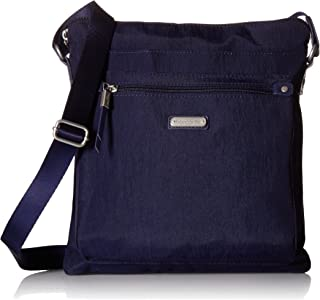 Baggallini Go Bagg with RFID Phone Wristlet, Navy