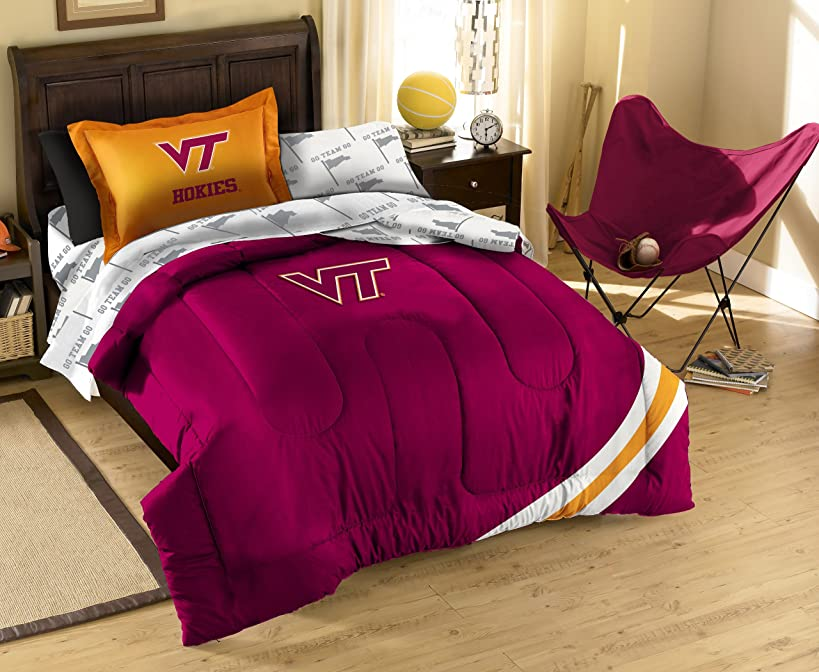 The Northwest Company Officially Licensed NCAA Twin Bedding Set