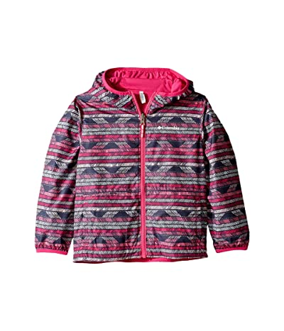 Columbia Kids Pixel Grabbertm Reversible Jacket (Little Kids/Big Kids) (Haute Pink Chevron/Haute Pink) Girl